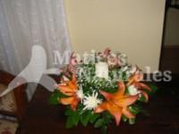 Lilium y maules con cirio